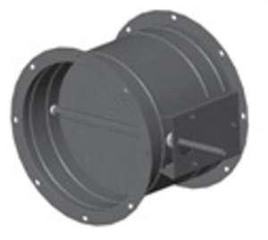 Клапан обратный круглый взрывозащищенный ф 315 оц.ст. фланцевое соединение