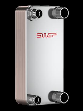 Swep теплообменники подключение смесительные и поверхностные теплообменники